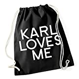 Certified Freak Karl Loves Me Gymsack Black