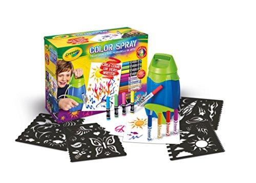 crayola 04 8733 color spray aerografo On aerografo crayola amazon