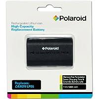 Polaroid High Capacity Battery Canon LPE6 rechargeable au lithium de remplacement (compatible avec: Canon EOS 5D Mark II, 7D, 60D)