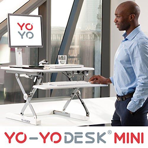 Yo-Yo Desk MINI (Blanc) - Meilleure vente des bureaux...