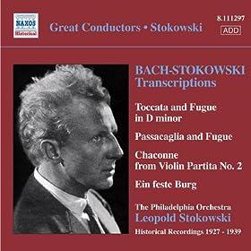 Bach, J.S.: Stokowski Transcriptions, Vol. 1 (Stokowski) (1927-1939)