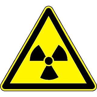 1 x Aufkleber Achtung! Nuclear Atom Gefahr Sticker Shocker Warnschild Tuning Fun
