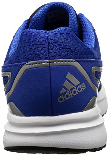 Adidas Performance Galactic Elite M Running Shoe, noir / vert / fer métallisé / gris, 6,5 M Us White/Blue/Iron Metallic/Grey