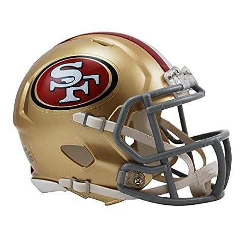 NFL San Francisco 49ers Official Mini Replica Helmet - 13cm High