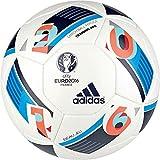 #9: adidas Euro 16 Training Proffesional Football, Men's Size 5 (White)