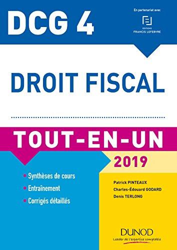DCG 4 - Droit fiscal - Tout-en-Un - 2019