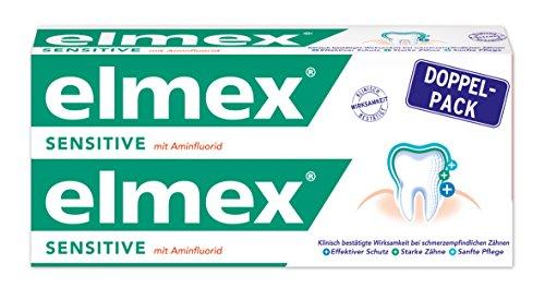 elmex SENSITIVE Zahnpasta, 3er Doppelpack (6 x 75 ml)