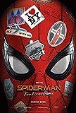 Lionbeen Spider Man Far from Home Movie Poster Affiche de Film 70 X 45 cm