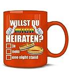 WILLST DU MICH HEIRATEN - Homosexualität 5861(Rot)