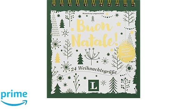 Weihnachtsgrüße Italienisch übersetzung.Buon Natale Adventskalender Mit Postkarten 24 Weihnachtsgrüße