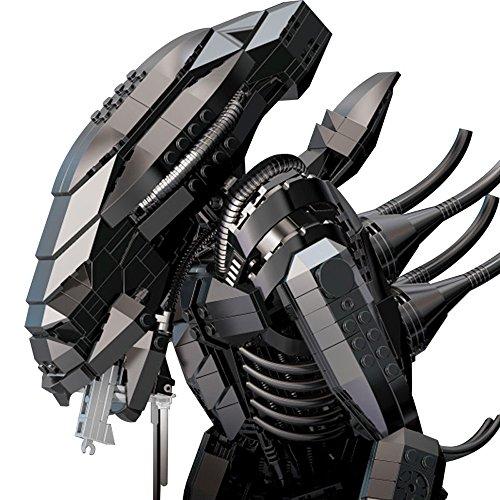 Modbrix ☣ Ladrillos Alien xenom orph construcción juguete, más de 2000Diseño Ladrillos ☣