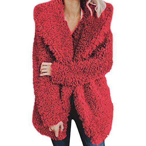 Krankenschwester Kostüm Cyber - Subfamily-P & S & O Frauen warme Winter Bluse Sweatshirt Damen Leopardenmuster Pullover Jacke Black Friday Cyber Monday