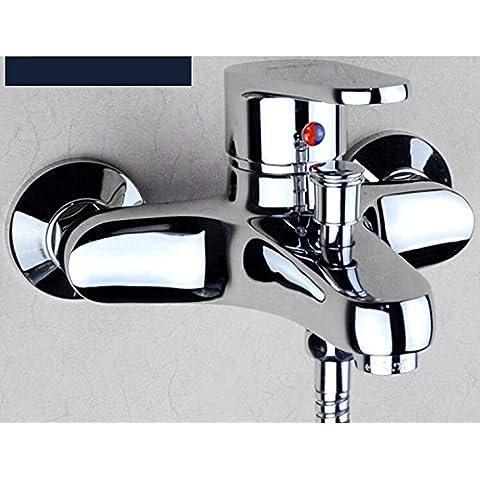 personalità creativa rubinetto ambientale, Miscelatore vasca stile europeo rame rubinetto
