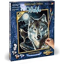 Suchergebnis Auf Amazonde Für Malen Nach Zahlen Wolf