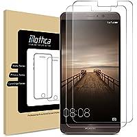 [2-Pack] Huawei Mate 9 Protezione dello Schermo Screen Protector, Mothca 0.3mm Durezza 9H HD Clear Anti-Graffio Anti-impronte Digitali Olio Protezione dello Schermo in Vetro Temperato Difesa con Garanzia a Vita di Sostituzione
