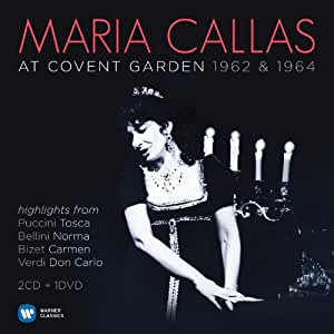 Maria Callas at Covent Garden 1962 & 1964