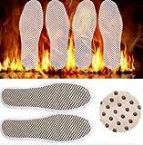 Lovestore2555 Turmalin Selbst Beheizte Heizung magnetisch Fuß Massage Einlegesohle Weit Infrarot Warm Schuh Pad (Größe 42)