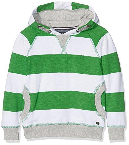 Marc O' Polo Kids Jungen 1/1 Arm mit Kapuze Sweatshirt, Grün (Fern Green 5450), 92