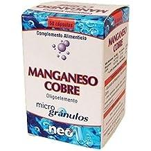 Manganeso-Cobre Microgranulos 50 cápsulas ...