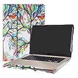 Alapmk Spécialement Conçu Protection Housses pour 15.6' ASUS VivoBook S15 S510 S510UA S510UQ S510UN F510UA X510UQ Series Portable,Love Tree