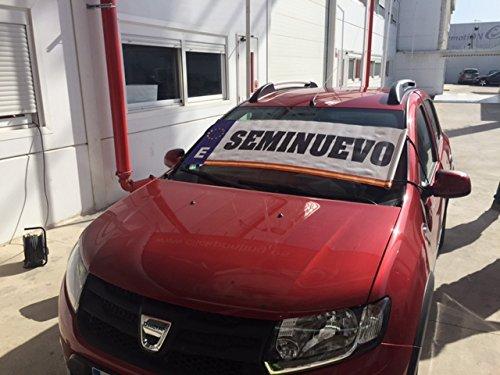 Parasol publicitario Seminuevo | Cartel seminuevo concesionarios | Cartel coche seminuevo | Cartel coche de ocasion