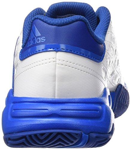 adidas Herren Barricade Court 2 Turnschuhe, Schwarz Weiß / Blau (Ftwbla / Ftwbla / Azuimp)