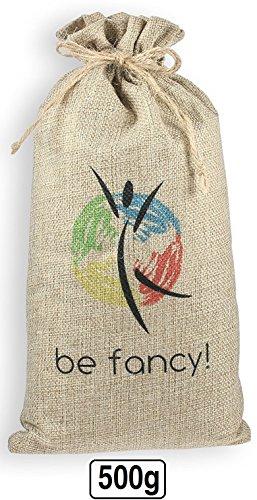be fancy! ♻ 500g Luftentfeuchter Auto, Wohnung - Luftreiniger Beutel Aus Bambus Aktivkohle - Absorbiert Gerüche & Filtert Schadstoffe und Allergene