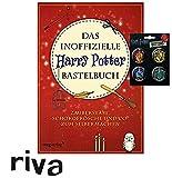 HARRY POTTER Das inoffizielle Bastelbuch: Zauberstäbe, Schokofrösche und Co. zum Selbermachen Taschenbuch + 1. original Button