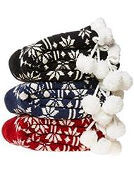 Socks ZY Sra otoño e invierno calcetines antideslizantes del piso y terciopelo calcetines toalla de coral de terciopelo calcetines gruesos calcetines calientes , red