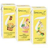Special.T – Bio Citrus Mix – Kräuter- und Früchtetee (3 Sorten à 10 Kapseln)