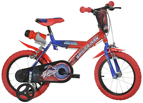 DINO BIKES 14 INCH SPIDER MAN CHILDRENS BIKE