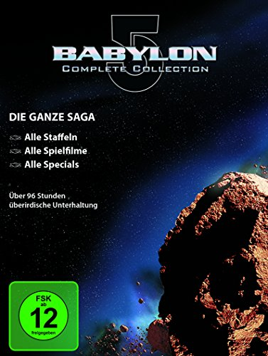 Bild von Spacecenter Babylon 5 - Collection [37 DVDs]