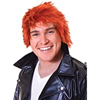 Bristol Novelty BW522 Ginger Chisel Wig, One Size