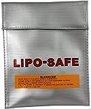 Lipo Tasche 25x33 cm feuerfest Akku Sicherheitstasche Feuer Sicherheit Safe