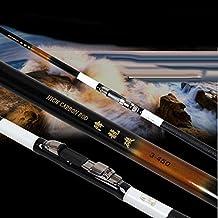 LZH Long sección de cañas de pescar 3.6 / 4.5 / 5.4 / 6.3 metros de alta calidad Carbono material de las cañas de pescar Pesca telescópica de largo Pesca Mar caña de pescar , 6.3 m