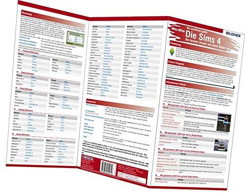 Die Sims 4 - Die 200 besten Cheats auf einen Blick!: The unofficial guide - Der inoffizielle Führer (Wo&Wie) (Die Besten Videospiele Für Kinder)