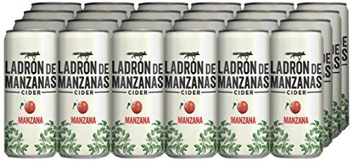 Apple Thief Cider Mazana - Box of 24 Cans x 330 ml - Total: 7.92 L