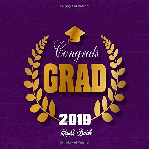 uest Book: Congratulatory Message Book With Motivational Quote And Gift Log Memory Year Book Keepsake Scrapbook For Grads (Graduation Gifts, Band 40) ()