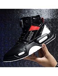 JIAODANBO Zapatillas Super Fire Zapatillas Altas Hip Hop Zapatos Viejos con  Suela Gruesa Zapatos para Hombres Zapatos Deportivos… b978e5a6e7b