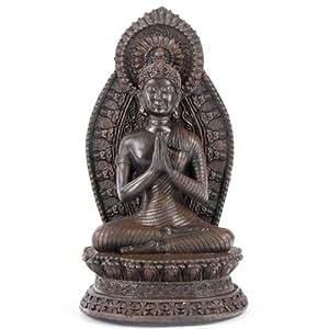 Bouddha gasshô, mains en prière