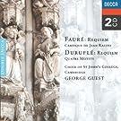 Durufl�/Faur�/Poulenc: Choral Works