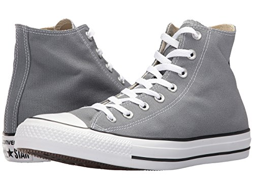 Converse Unisex Erwachsenen Chuck Taylor All Star Seasonal Hi-Top Sneakers, Weiß, 3,5 UK, Grau - Cool Grey - Größe: 37.5 EUHerren, 40.5 EU Damen Medium (Hi Grau Weiß Herren Sneakers)