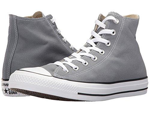 Converse Unisex Erwachsenen Chuck Taylor All Star Seasonal Hi-Top Sneakers, Weiß, 3,5UK, Grau - Cool Grey - Größe: 37.5 EUHerren, 40.5 EU Damen Medium (Hi Grau Weiß Herren Sneakers)