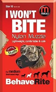 Mikki Muselière de dressage pour chien Taille 10