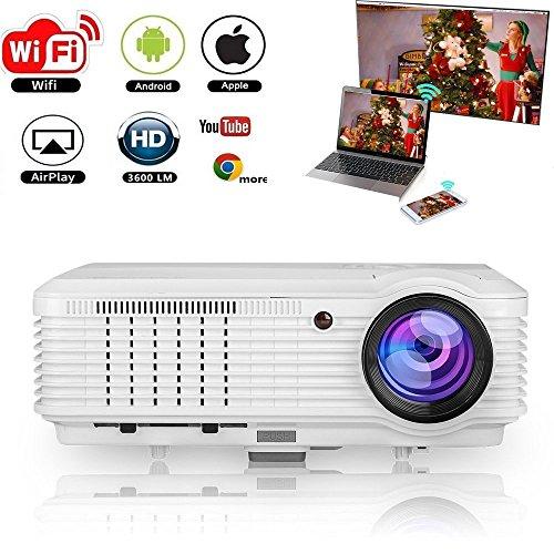 Proyector de video inalámbrico Full HD 4500 Lumen 200