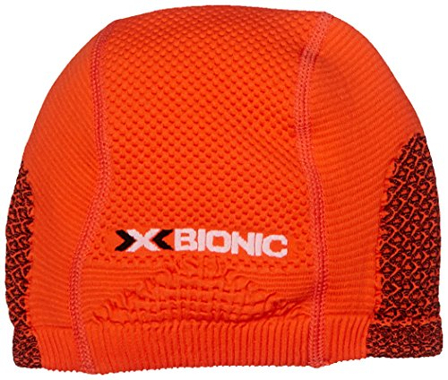 X-Bionic Erwachsene Funktionsbekleidung OW Soma Cap Light, Orange Sunshine/Black, 2,...