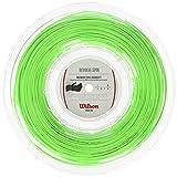 Wilson Revolve Spin 16 Reel Gr, Corde da Racchetta Unisex, Verde,...