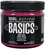 Liquitex Basics Acrylfarbe, 946 ml, Dunkelviolett