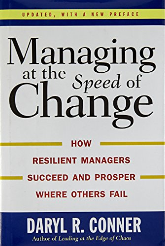 Managing At The Speed Of Change