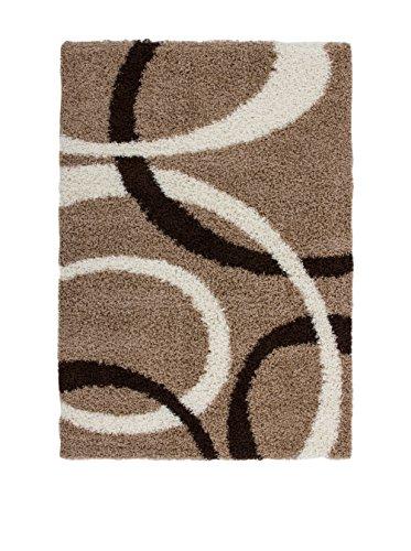 Preisvergleich Produktbild Lalee 6M2YI-120-170 Teppich, 100% Polypropylen Heatset Frisée, beige, 230 x 160 x 50 cm